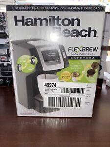 Hamilton Beach 49974 FlexBrew Coffee Maker Compatible Black