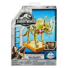 Jurassic World ~ Fossil Strikers ~ Triceratops Dinosaur Figure