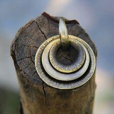 Fashion Round Jewelry Chain Pendant Vintage Choker Chunky Statement Bib Necklace