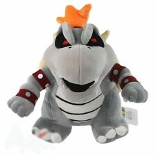 "10"" Super Mario Dry Bowser Bones Koopa Plush Doll Soft Toy Stuffed Animal"