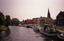 PHOTO  NETHERLANDS ON RIVER VECHT 1991 VIEWS ON THE RIVER v13