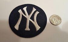 "New York Yankees Interlocking NY LOGO Embroidered Iron On Patch - 3""X 3"""