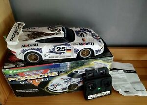 Vintage / Retro RadioShack PORSCHE 911 GT1 Radio Controlled Car