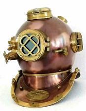 Antique Vintage Scuba Diving Helmet US Navy Mark V Deep Sea Boston Marine Divers