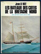 Les Bateaux des Côtes de la Betagne Nord, dern. jours de la Voile, Plans, Le Bot