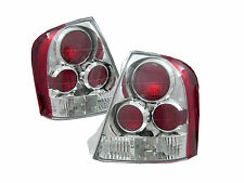 MAZDA 323 PROTEGE SEDAN 4D EURO ALTEZZA TAIL LIGHT BACK CHROME RED LAMP 99-03