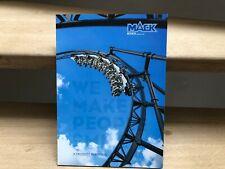 Mack Rides We Make People Smile Product Portfolio prestige brochure