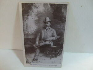 His Majesty King Edward VII at Homburg c1905 unused Postcard
