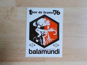 Sticker Balamundi - Tour de France Cyclist 1976