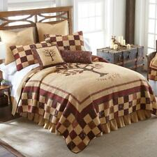 Donna Sharp Autumn Tree of Life Quilt Rustic Lodge Cabin * King * 3-Piece Set