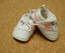 """Doll Shoes, 54mm PINK/WHITE Sporty Shoes - 13"""" Patsy, P91 Toni, others"""