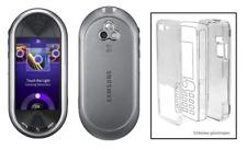 durchsichtige Kristall Hülle (Hartplastikhülle) ~ Samsung M7600 Platin