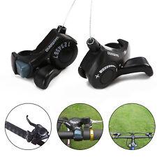 Mountain Bike SL-TX30 Thumb Gear Shifter 3x7 Speed Shift Lever Set for Shimano 2