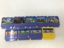 Lot of 9 VTech V Smile System Game Cartridges Dora Brats Ratatouille Alphabet