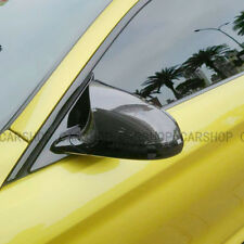 For BMW M3 M4 F80 F82 15-20 OX Dry Real Carbon Fiber Side Mirror Cover Cap Add