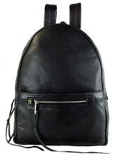 REBECCA MINKOFF ALLWYAS ON REGAN Black Leather LG Backpack Msrp $295.00