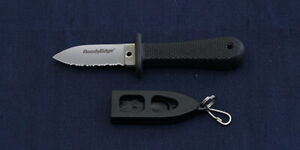 Cold Steel 42 Ready Edge  Fixed Knife w/ Plastic Sheath discontinued