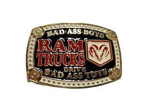 Dodge Ram truck belt buckle