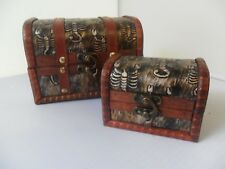 NEW STORAGE BOXES SET OF 2 SCORPIONS FITS INSIDE NOVELTY