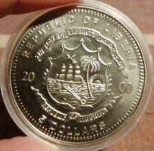 Monnaie/MÉDAILLE Liberia sous capsule FDC.