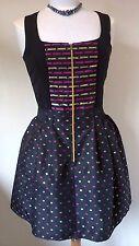 NEW Dahlia black/pink Party/Cocktail short/mini style dress Size UK 12