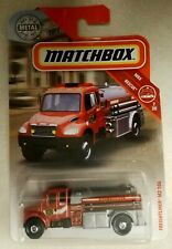 2019 Matchbox Freightliner M2 106 Fire Rescue Metal MBX OFF-ROAD - BOX SHIP FREE