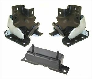 00-06 4 Wheel Drive for GMC Tahoe Engine Mount With Heat Shield Transmission 3pc