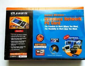 ĞLinksys WPC11 ver. 3 PCMCIA Wireless Network PC Card 802.11b NEW SEALED