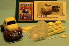 SMC-658 1948-50 Ford Semi Tractor  HO-1/87th Scale Clear Resin Kit  (unfinished)