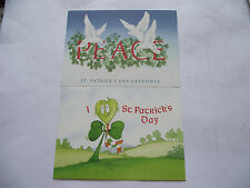 "IRELAND/ÉIRE. 1989 POSTAGE PAID TWO POSTCARDS ""ST.PATRICK DAY GREETINGS""UNUSED#2"