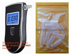 Replacement Mouth Pieces/Inserts for Breathalyzer Alcohol Tester AT-868 & 818M