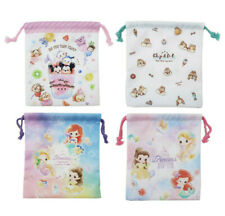 Japan Disney Princess / Tsum Tsum / Chip & Dale Drawstring Bag (S)