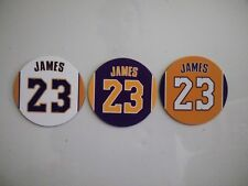 Lebron James Los Angeles Lakers - Fridge Magnets - Jersey Design - 2.75 inch