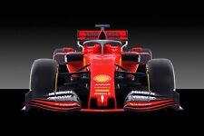Ferrari F1 Formula One Automotive Car Wall Art Giclee Canvas Print Photo (219)