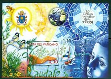 2020 Vatican City: 25th Anniversary of Earth Day MNH Sheet