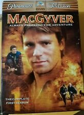 MacGyver - The Complete First Season (Dvd, 2005, 6-Disc Set) Free Shipping!