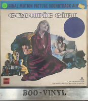 Groupie Girl, Original Motion Picture soundtrack 1970's Vinyl  LP rare EX / VG+