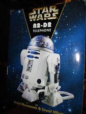 Star Wars R2-D2 Telephone droid movements sound effects NIB