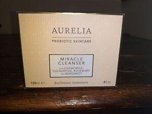 Aurelia Probiotic Skincare Miracle Cleanser 120ml & Bamboo cloth