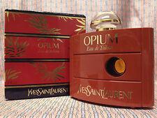 Vintage 90s Opium FULL 2 oz 60 ml Eau de Toilette Yves Saint Laurent OLD FORMULA