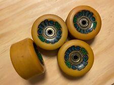 Vintage OLLIE skateboard wheels by Tracker Trucks, circa late 1980s