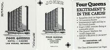 New ListingJokers - Casino - Four Queens - 3 single vintage playing cards