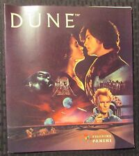 1984 DUNE Movie Figurine Panini Sticker Book FVF 7.0 David Lynch w/ 2000 AD #401
