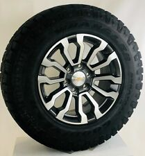 "New Takeoff Chevy Silverado Tahoe 18"" Wheels Goodyear A/T Tires Lug Nuts"