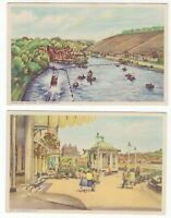 Great Britain 2 old unused SCARBOROUGH postcards