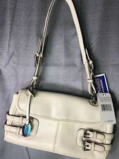 Franco Sarto Small Satchel Pebble Leather Purse 10.5 x 6 x 2