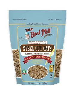 Bob's Red Mill Steel Cut Oats -- 24 oz
