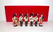 WARWICK Lead Toy Soldier ARGYLL & SUTHERLAND BAND BOXED SET Britains