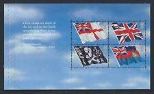 GREAT BRITAIN 2001 UNSEEN AND UNHEARD PRESTIGE PANE UNMOUNTED MINT, MNH