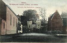 Prentkaart - BAZEL - De ingang van 't kasteel